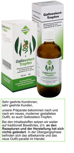 Galloselect-Tropfen